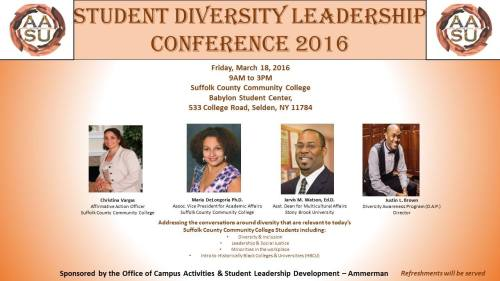 Diversity Conference 2016-3-18