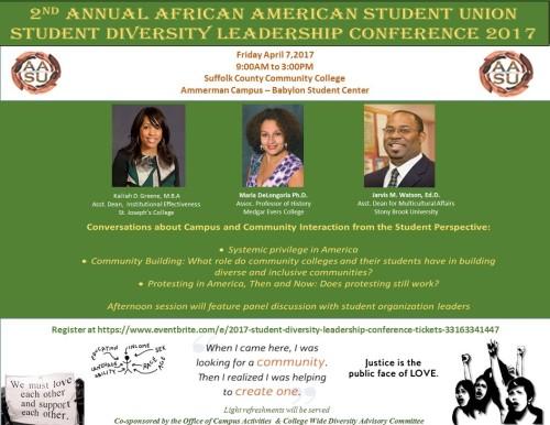 AASU Diversity Conference Flyer 2017-4-7